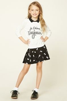Girls French Sweater (Kids)
