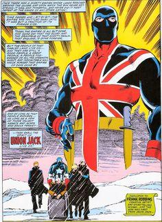 Union Jack is dead! Long live Union Jack! (marvel UK)