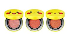Tonymoly Pokemon Pikachu Mini Cushion Blusher (9g) #Tonymoly