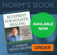 Blueprint for Holistic Healing - C Norman Shealy, MD, PHD - Available Now!