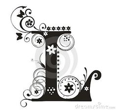 Best stock images offered at Cliparto by Yelena Panyukova - unique stock photographs, vector graphics and illustrations. Buy and sell high quality images at Cliparto. Vintage Lettering, Lettering Design, Hand Lettering, Lettering Styles, Fancy Letters, Flower Letters, Special Letters, Photo Letters, Art Nouveau