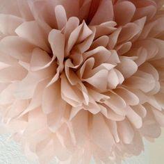 Tissue Paper Pom Pom Decor