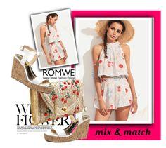 """""""ROMWE 5"""" by danijela-3 ❤ liked on Polyvore featuring romwe"""