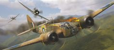 The Blenheim served as the basis for the Beaufort torpedo bomber, which itself led to the Beaufighter, with the lineage performing two complete circles of bomber-to-fighter.