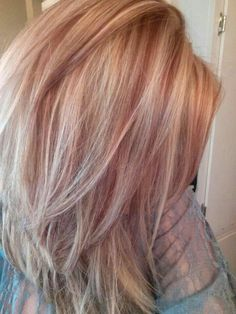 I bet this would be a great blend with my white hair. Hide it in the highlights!