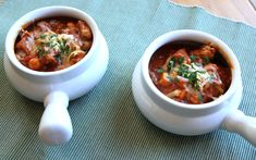 Pumpkin Chili With Pork and Hominy