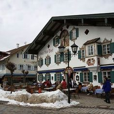 Oberammergau (Bavaria, Germany) is best known for its famous Passion Play, which is staged only every 10 years; the next one will take place in 2020. Surely the world's longest-running show, it began in 1634 when the town's citizens took a vow to give dramatic thanks after they were spared from the devastating plague of 1633.