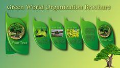 green world organization brochure template World Organizations, Design Desk, Business Brochure, Brochure Template, Templates, Green, Flyer Template, Stencils, Booklet Template