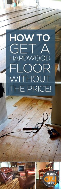Do it yourself floors decorating small spaces and restoration we all love the beauty and elegance of hardwood floors but often they are outside the budget the good news is i found some diy hardwood floor ideas solutioingenieria Images