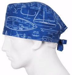 Surgical Caps Vintage Boats $11 usd USA made instock ships worldwide daily @ surgicalcaps.com
