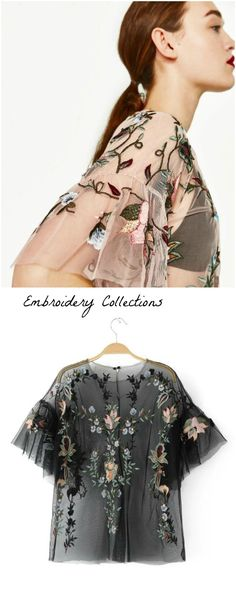 ❤️ A Gorgeous Embroidered Top as featured on Pasaboho. Now available at $39. This top exhibit brilliant colors with gorgeous embroidered floral patterns. ❤️  outfit ideas :: street style :: boho chic :: outfit ideas :: boho clothing :: free spirit :: fashion trend :: embroidered :: flowers :: summer :: fabulous :: love :: street style :: fashion style :: boho style :: bohemian :: modern vintage :: ethnic tribal :: boho bags :: embroidery dress :: skirt :: cardigans :: jacket :: tops