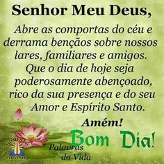 Bom dia Good Afternoon, Holy Ghost, Android Apps, Prayers, Inspirational Quotes, Instagram, Taxi, Celestial, Night
