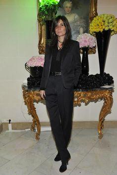 Emmanuelle Alt at Atelier Versace S/S 2013 After Party