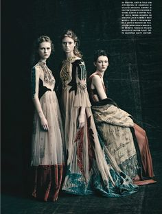 'É Alta Moda - Valentino' by Paolo Roversi for Vogue Italia