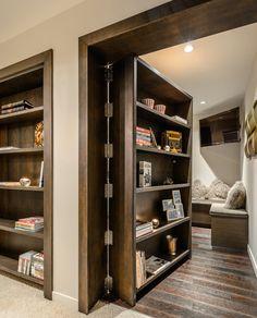 Secret room - i want this!!! a secret room of books. i would be soooooo happy!