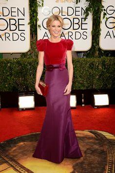 Julie Bowen in Carolina Herrera http://fashionallovertheplace.blogspot.it/2014/01/71st-golden-globe-best-dressed.html
