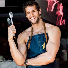 How Model-Turned-Chef Franco Noriega Maintains His Six Pack | GQ