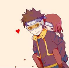 Rin and Obito are so kawaii ❤️❤️