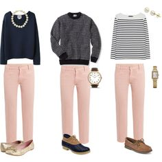 Pale Pink Denim, created by summerwind41490.polyvore.com