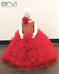 Red color Net Frock for 12 to 18 months - Ladies Fashion Designer in RS Puram Coimbatore, Ladies Boutique in RS Puram Coimbatore, Ladies Tailor in RS Puram Coimbatore Little Girl Dresses, Flower Girl Dresses, Girls Dresses, African Dresses For Kids, Red Candy, Ladies Boutique, Formal Dresses, Wedding Dresses, Frocks