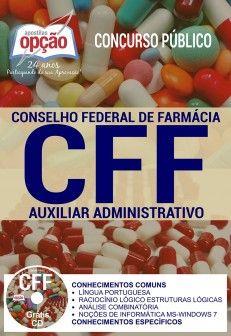 Apostila Concurso CFF 2017  AUXILIAR ADMINISTRATIVO