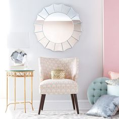 A pretty pastel palette brings calm and class to any space.