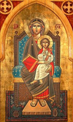 Icon by Isaac Fanous, St Peter and St Pauls Coptic Orthodox Church Religious Images, Religious Icons, Religious Art, Greek Icons, Roman Church, Jesus Christ Images, Christian Art, Christian Church, Christian Pictures