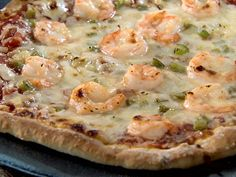 new orleans food | New Orleans Shrimp Pizza Recipe : : Recipes : Food Network