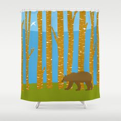 Forest Shower Curtain – TheGretest