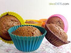 La dieta ALEA - blog de nutrición y dietética, trucos para adelgazar, recetas para adelgazar: Magdalenas (o tarta) de zanahoria