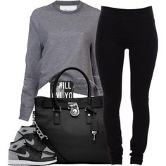 Outfits with jordans, jordan outfits for girls, swag outfits, dope outfits, Look Fashion, Teen Fashion, Fashion Outfits, Womens Fashion, Fashion Styles, Fashion Black, Fashion Spring, Paris Fashion, Fashion Ideas