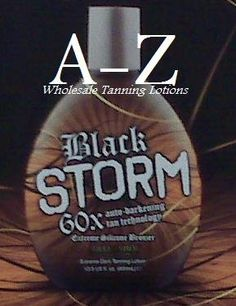 Millenium Tanning Black Storm Premium Tanning Lotion, Extreme Silicone Bronzer, 60x, 13.5-Ounce $13.50