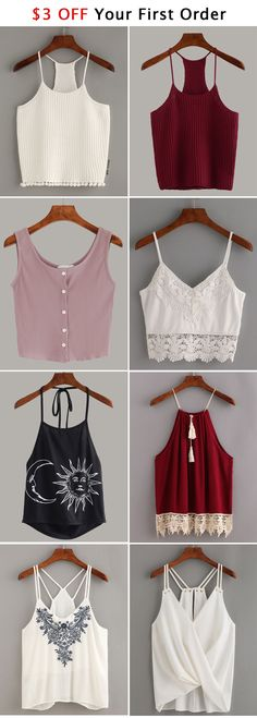 All of these tops are so gorgeous!! I literally want them all (but mainly the black one with the moon and sun on it)