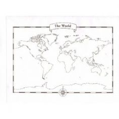 Looking for a Blank World Map? Free Printable World Maps to Use in Class