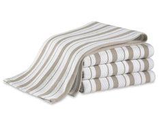 Williams-Sonoma Classic Striped Towels, Set of 4 | Williams-Sonoma