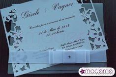 Convite de Casamento Bucharest - Moderne - Convites e afins