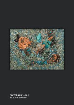 Carol Talkov Copper Mine — 2012, 12.25 x 16.25 inches (Full View)