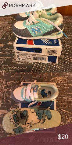 New balance Kids New never been worn , also have box New Balance Shoes Sneakers