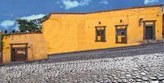 Original Colonial facade in San Miguel de Allende #agavesanmiguel #sanmiguelrealestate