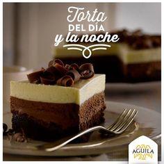Torta del día y la noche #Chocolate