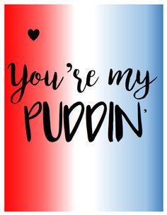 You're My Puddin' Print Harley Quinn Print by DeannaPrints on Etsy