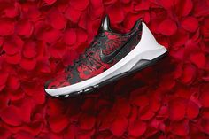 Nike to Release the KD 8 EXT in a Black & Red Floral Pattern