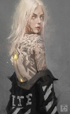 Want to discover art related to portrait? Check out inspiring examples of portrait artwork on DeviantArt, and get inspired by our community of talented artists. Dnd Characters, Fantasy Characters, Female Characters, Fantasy Character Design, Character Design Inspiration, Character Art, Arte Cyberpunk, Character Portraits, Fantasy Inspiration