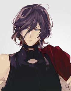 Did Kane-San cut his hair or did it get cut off?