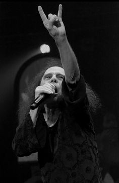 Ronnie James Dio July 10, 1942 to May 16, 2010. His rocking spirit will always be with us.
