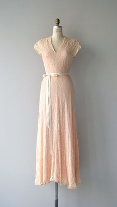 Jahr der Gnade Kleid 1930er Jahre Vintage von DearGolden auf Etsy