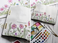 VIDEÓ: Akvarell virágok Diy, Bricolage, Diys, Handyman Projects, Do It Yourself, Crafting