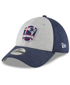 ad41a14a178 New England Patriots On Field Sideline Road 39THIRTY Stretch Fitted Cap