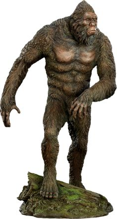 Sideshow Collectibles is proud to present the newest offering in our Sideshow Originals series, the Bigfoot Statue. Capturing the elusive American legend in exa Bigfoot Toys, Yeti Bigfoot, Bigfoot Sasquatch, Extinct Animals, Prehistoric Animals, Bigfoot Pictures, Diorama, Finding Bigfoot, Weird Creatures