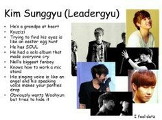 Sunggyu from infinite